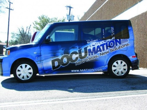 Omaha Signs Window Graphics Vehicle Wrap Altas Signs